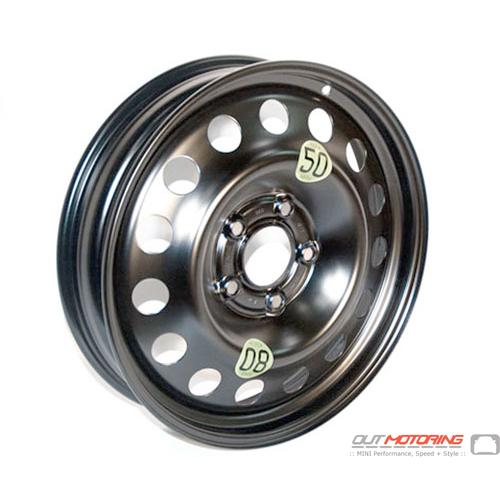 Micro Spare Wheel: 5 Lug: R60/R61