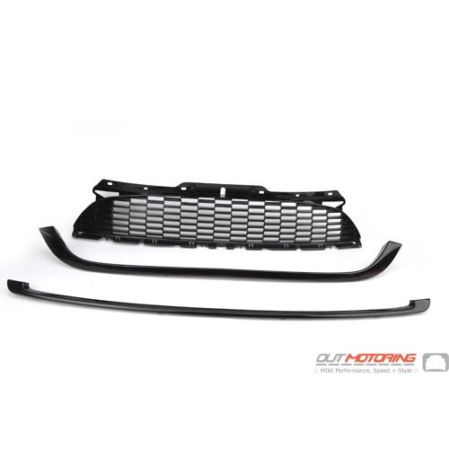 2751623 BMW Mini One//Cooper Front Bonnet Grill Trim Chrome 2007-2010