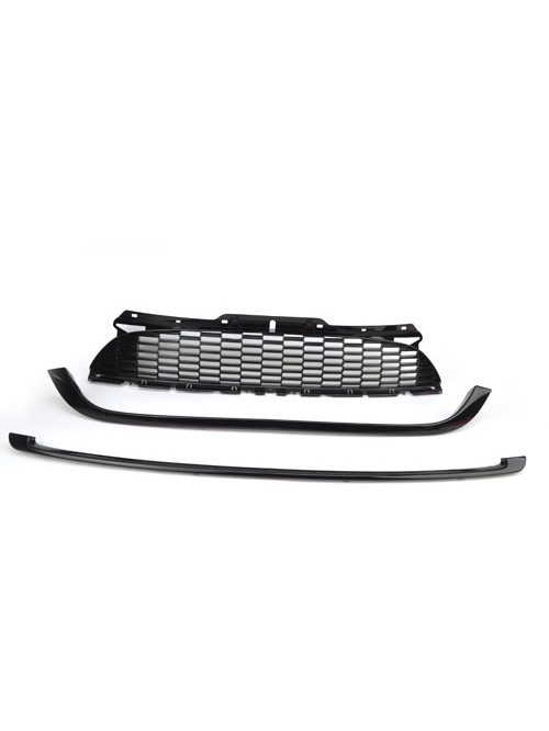 Grill + Black Trim Set: BASE COOPER: 11+