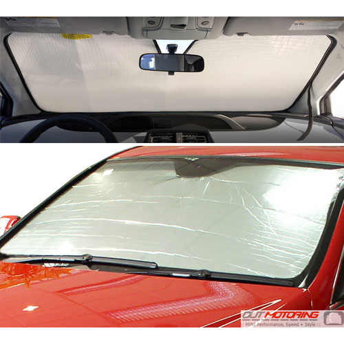 Windshield Sunshade: Roll Type
