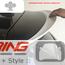 Chi Rear Spoiler Extension: F56: Carbon Fiber