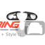Steering Wheel Trim Set: Gen3: Carbon Fiber