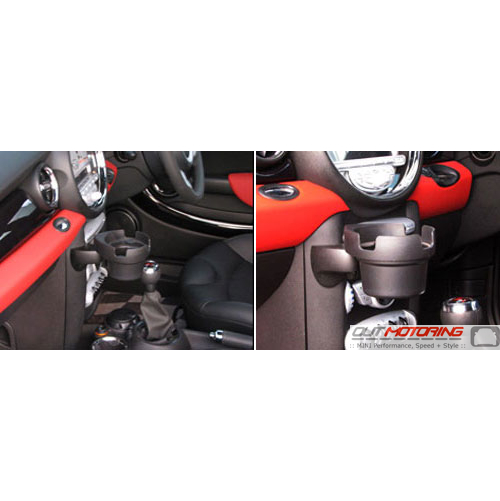 MINI Fini Cupholder: R55/6/7/8/9: Left Hand MOUNT