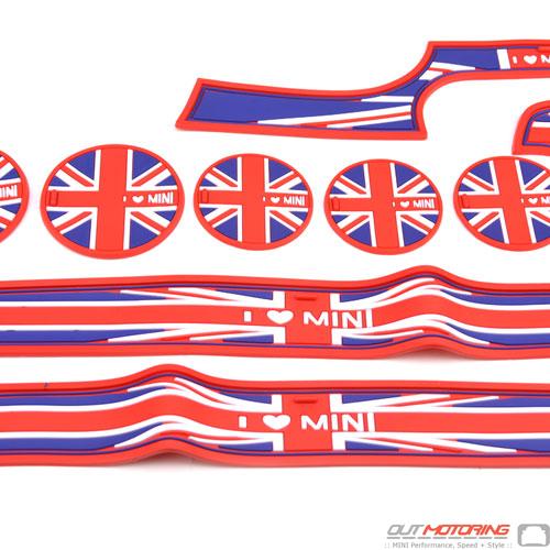 Storage Liner 9 Piece Set: F56/7: Union Jack