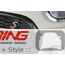 Grill Trim Surround Replacement: Black: F55/6/7