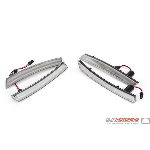 Wheel Arch Lights: LED Clear: Front + Rear: Gen1