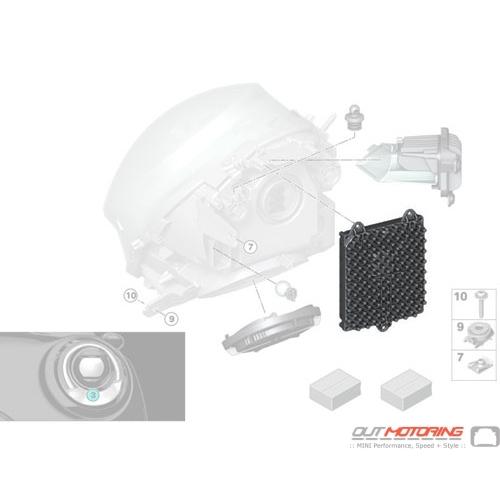 Control Unit: Front Light Electronics