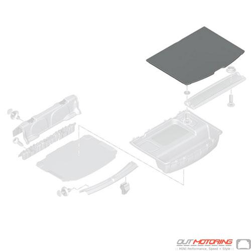 Floor Carpet: Luggage Compartment
