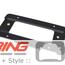 License Plate Mounting Bracket: Rear: URO