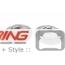 Brake Rotors: Aftermarket: Rear