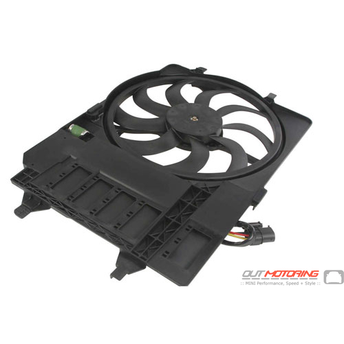 Radiator Fan + Housing: TYC