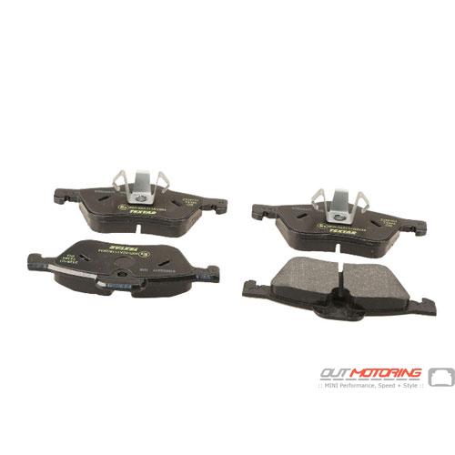 Brake Pads: Front: R50/2/3: Textar