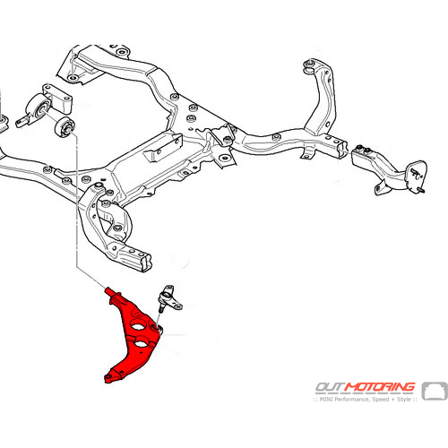 Control Arm: Front Right: ISG