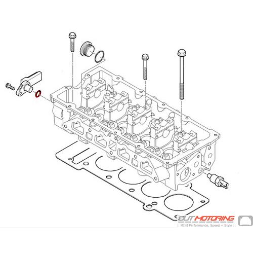 Camshaft Position Sensor o-ring: Victor Reinz