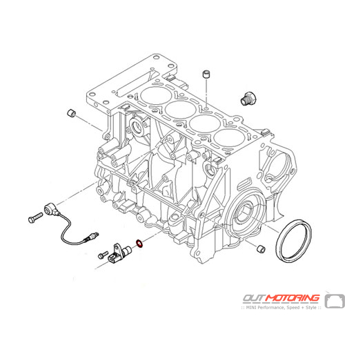 Crankshaft Position Sensor o-ring: Victor Reinz