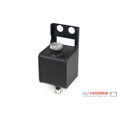 Power Steering Tank: Aluminum Black: Canton