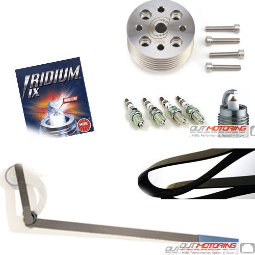 17% Supercharger Pulley Kit