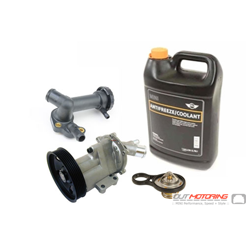 MINI Cooper Cooling System Refresh Kit Meyle Water