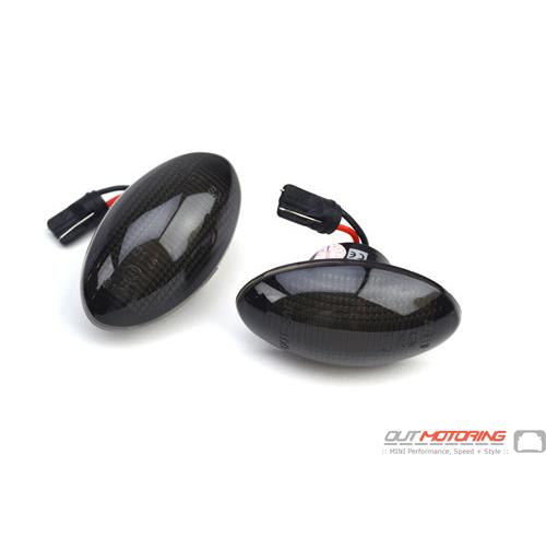 LED Side Marker Lights: Black: R50/2/3