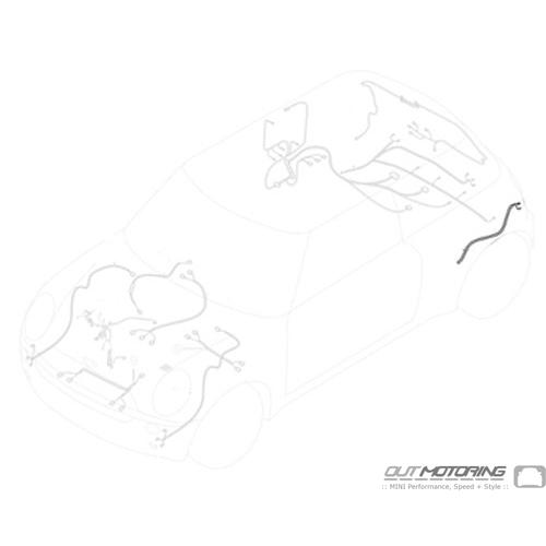 61126844848 Mini Cooper Replacement Parts Repair Wiring Set- Rear Left