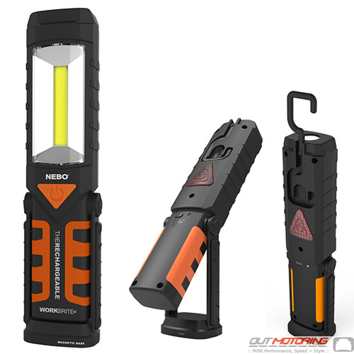 LED WorkBrite Rechargeable Flash Light