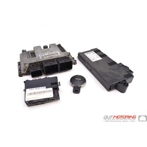 N14 CAS3 Module, DME and Key Set Man Trans R55/6/7: USED