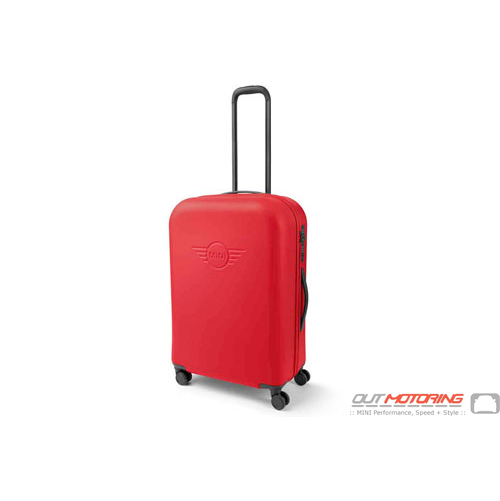 MINI Cabin Trolley Suitcase: Coral
