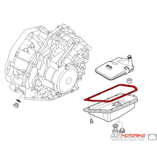 Automatic Transmission Oil Pan Gasket: CVT: Vaico