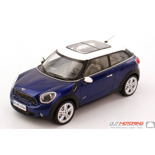 Mini Model:  MINI Paceman-Starlight Blue