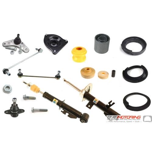 For Mini Cooper R56 Hatchback Front Struts /& Rear Shocks Sport Suspension KIT