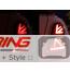 LED Rear Tail Lights: GREY Union Jack: R56/7/8/9