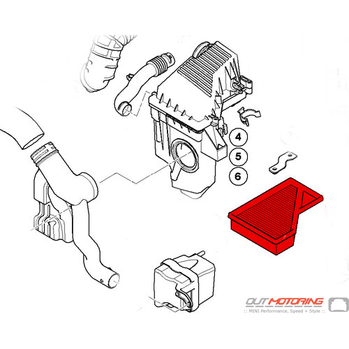 Air Filter Element: Mahle