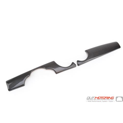 Dash Panel Covers: Gen2: Carbon Fiber