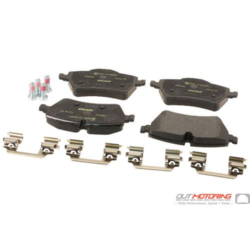 Brake Pads: Front: R60/61: Textar