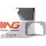 GP Style Rear Spoiler: R50/3/6: Black