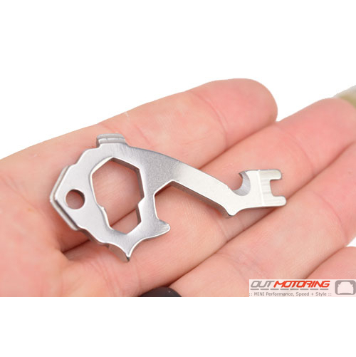 Key Sized Can Opener Multitool
