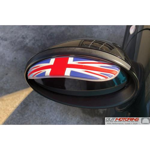 Side Mirror Shades: Union Jack