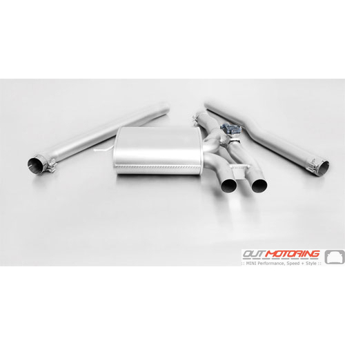 Exhaust: Cat-Back: Valved: F56 S: Remus