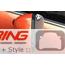 Side Mirror Shades: MINI Wings Bronze