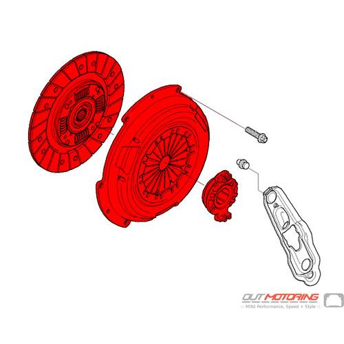 Clutch Kit: R50: Pre-2004