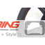 Custom Steering Wheel: Red Stitching: Gen 2