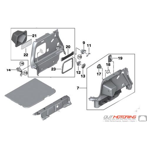 Load Floor Kit: F54