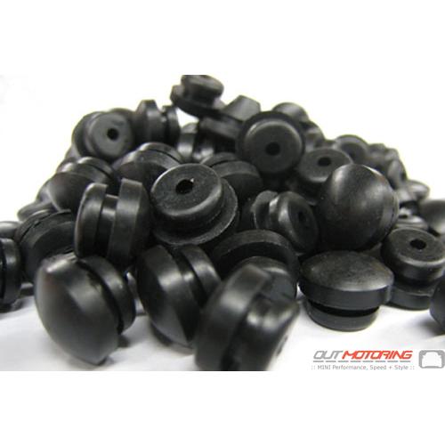 Rennline Aluminum Pedal Rubber Inserts: Set of 100