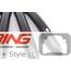 Door Handle Covers: Carbon Fiber: F54/55/60: Comfort Access